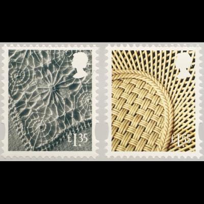 Großbritannien 2019 Regionalmarke Nordirland Neuheiten Landeswahrzeichen