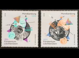 Liechtenstein 2019 Neuheit 90 Jahre erste Mondlandung Apollo 11 Neil Armstrong