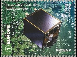 Belgien 2019 Neuheit Belgien im Weltall Weltraumforschung Astronauten Raumfahrt