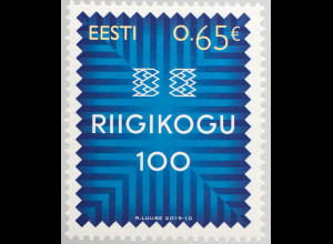 Estland EESTI 2019 Michel Nr. 952 Estnisches Parlament Riigikogu
