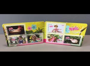 Polynesien französisch 2018 Nr. 1390-95 Babys Fotografie Kleinkinder