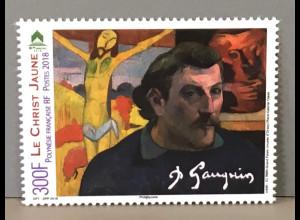 Polynesien französisch 2018 Nr 1388 Paul Gaugin französischer Maler und Künstler