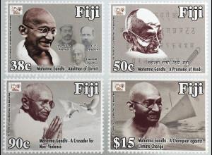 Fidschi Inseln FIJI 2018 Neuheit 150. Geburtstag von Mahatma Ghandi