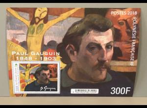 Polynesien französisch 2018 Block 49 Paul Gaugin französischer Maler Künstler