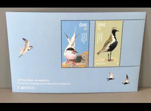 Irland 2019 Block 109 Europaausgabe Einheimische Vogelarten Fauna Ornithologie