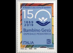Italien Italy 2019 Neuheit Bambino Gesu Kirche in Rom Klosterkirche PA Vatikan