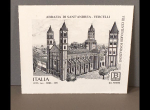 Italien Italy 2019 Neuheit Basilika Sankt Andrea von Vercelli Kirche Architektur