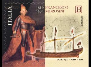 Italien Italy 2019 Neuheit Francesco Morosini Doge von Venedig Geschichte
