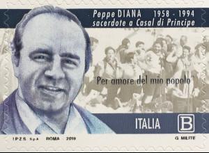 Italien Italy 2019 Neuheit Giuseppe Peppe Diana Pater Peppino Schriftsteller