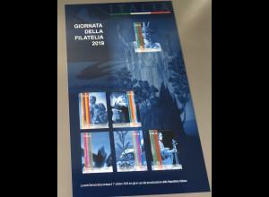 Italien Italy 2019 Neuheit Tag der Philatelie Monumente Blockausgabe