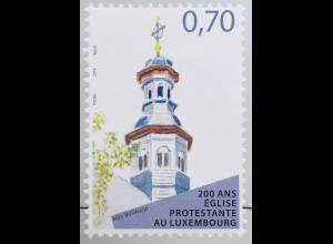 Luxemburg 2019 Neuheit 200 Jahre evangelische Kirche