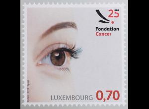 Luxemburg 2019 Neuheit 25 Jahre Fondation Cancer Gegen Lungenkrebs