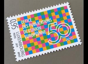 Luxemburg 2019 Neuheit 50 Jahre Amt für Veröffentlichungen der EU