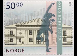 Norwegen 2019 Neuheit Osloer Börse Wertpapierbörse Geldverkehr Aktien