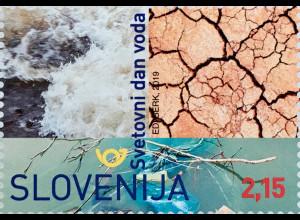 Slowenien Slovenia 2019 Block 116 Weltwassertag UN-Water UN-Konferenz Umwelt