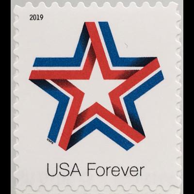 USA Amerika 2019 Nr. 5577 BA Star Ribbon Orden und Ehrenzeichen der USA
