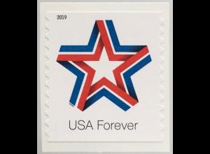 USA Amerika 2019 Nr. 5577 BC Star Ribbon Orden und Ehrenzeichen der USA