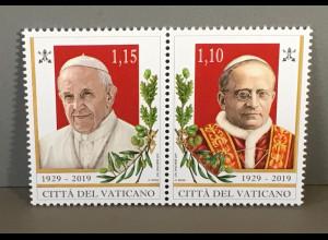 Vatikan Cittá del Vaticano 2019 Neuheit Staatsgründung Lateranverträge von 1929
