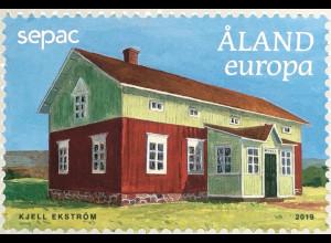 Aland 2019 Nr. 472 Alte Häuser Architektur Bauernhaus Landhäuser