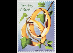 Schweden Sverige 2019 Neuheit Einladungen Hochzeit Ringe