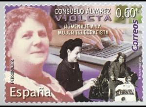 Spanien España 2019 Neuheit Consuelo Àvarez Violetá Politikerin Frauenrechtlerin