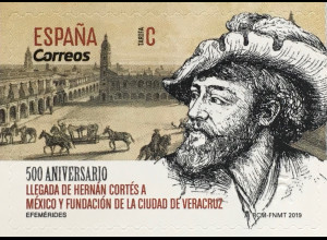 Spanien España 2019 Neuheit Gründung Vera Cruz Wahres Kreuz Atlantikhafen Mexiko