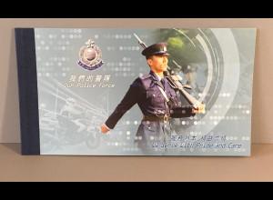 Hongkong 2019 Markenheft Nr. 2273-78 zum Thema Polizei in Honkong