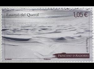 Andorra französisch 2019 Nr. 849 Estanyo Querol See Gewässer Wasser