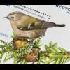 Azoren Acores 2019 Block 68 Europaausgabe Einheimische Vögel Ferfolha