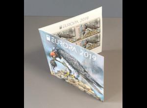 Bulgarien 2019 Nr. 5419-20 BD Europa Einheimische Vogelarten Fasan Bussard MH