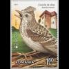 Rumänien 2019 Neuheit Europaausgabe Einheimische Vogelarten Ornithologie