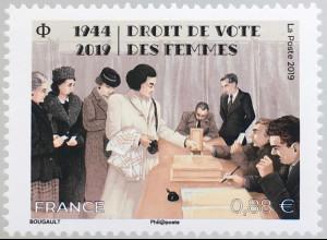 Frankreich France 2019 Nr 7303 Frauenwahlrecht Gleichheit Emanzipation Humanität