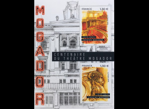 Frankreich France 2019 Nr. 7301- 02 Theater Mogador Kunst Musik Schauspiel