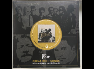 Irland 2019 Block 110-113 Great Irish Songs Folks Songs Musik Musiktexte Block
