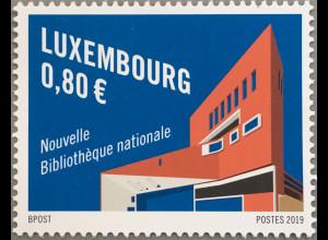 Luxemburg 2019 Neuheit Neue nationale Bibliothek Wissen Lernen Studium Kultur