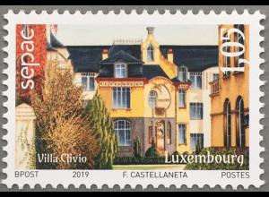 Luxemburg 2019 Neuheit SEPAC Wohnhäuser Zusammenschluß Postunternehmen