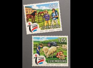 Luxemburg 2019 Neuheit Tourismus im ländlichen Raum Bauernhof Reiseziel