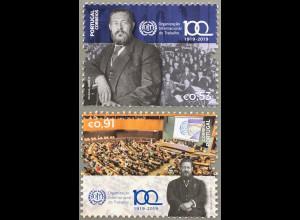 Portugal 2019 Neuheit 100 Jahre ILO Arbeitsstandards Sonderorganisation UNO