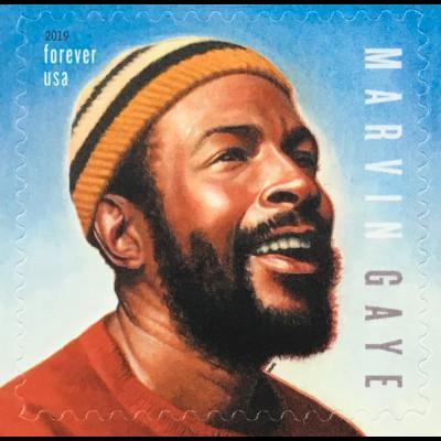 USA Amerika 2019 Nr. 5582 Marvin Gaye Soul- und R&B Sänger Musik Kunst