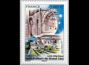 Frankreich France 2019 Nr. 7356 Abbatiale Saint-Philbert-de-Grand-Lieu Kirche