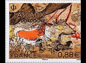 Frankreich France 2019 Nr. 7306 Lascaux Dordogne jungpaläolithische Höhlen