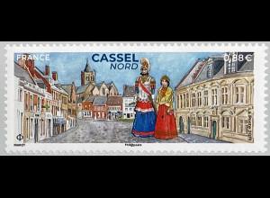 Frankreich France 2019 Nr. 7358 Cassel Nord Trachten Brauchtum Geschichte