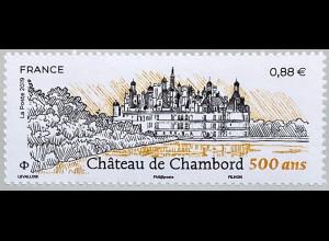 Frankreich France 2019 Nr. 7341 Schloß Chambord größtes Schloß des Loiretales