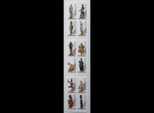 Frankreich France 2019 N. 7287-98 Skulpturen Handwerk Skulpturen Bronzestatuen