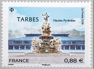 Frankreich France 2019 Nr. 7357 TARBES französische Stadt Region Okzitanien