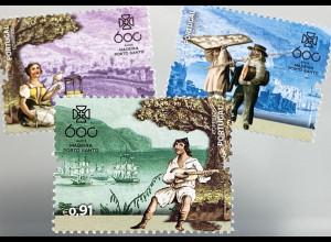 Madeira 2019 Nr. 393-96 600 Jahre Entdeckung Madeiras Entdecker Gonalves Zarco