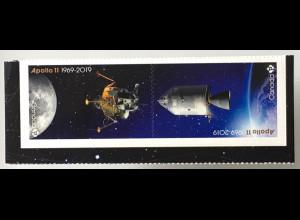 Kanada Canada 2019 Neuheit 50 Jahre erste Mondlandung Apollo 11 Neil Armstrong