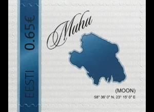 Estland EESTI 2019 Nr. 961 Meine Marke Karte von Estland