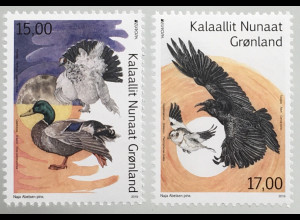Grönland 2019 Neuheit Einheimische Vogelarten Europaausgabe Stockente
