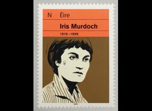 Irland 2019 Nr 2325 100. Geburtstag von Iris Murdoch Schriftstellerin Literatur